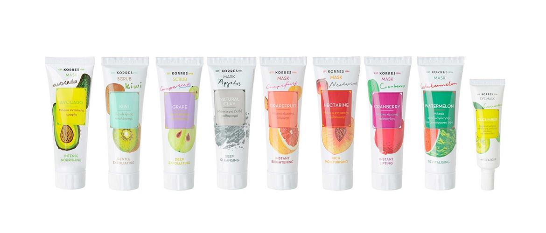 Korres | Beauty Shots | Masken & Peelings | je 18 ml | je 6,90 Euro