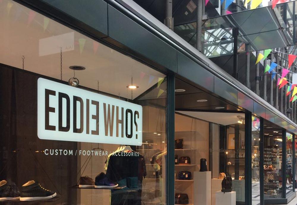 Sneaker nach Maß: EDDIE WHO? - re.flect Stuttgart