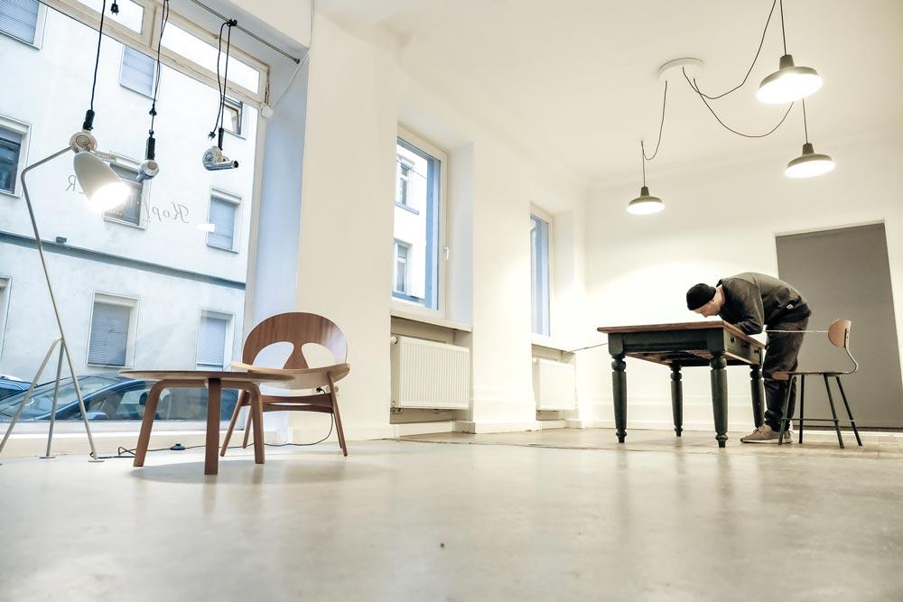 neue galerie im heusteigviertel raumwerk k stuttgart. Black Bedroom Furniture Sets. Home Design Ideas