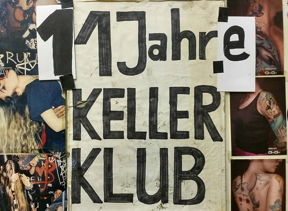 Großes Jubiläum: 11 JAHRE KELLERKLUB - re.flect Stuttgart