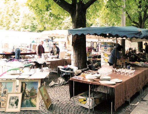 Flohmarkt im Frühling – rund um den Markt-, Schiller- und Karlsplatz – re.flect Stuttgart