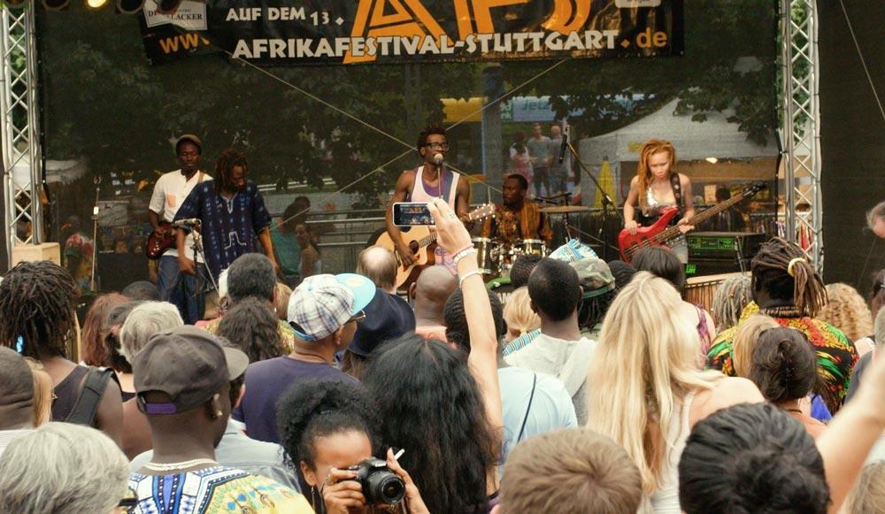 Kulinarische Vielfalt beim Afrika Festival - re.flect Stuttgart