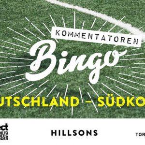 re.flect präsentiert: WM-BINGO AUF DER HILLSONS-TERRASSE