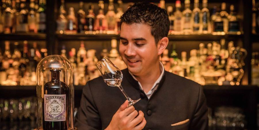 Eric Bergmann Gin-Tasting Café Justus