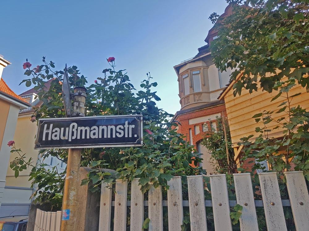 Streifzug Haußmannstraße stuttgart