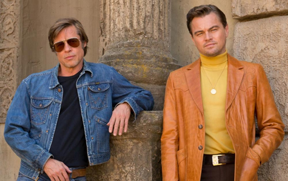 Once upon a time in Hollywood reflect