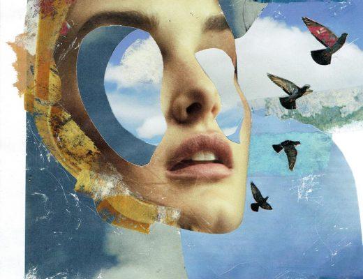 Cutmic Collage reflect Corona stayhome