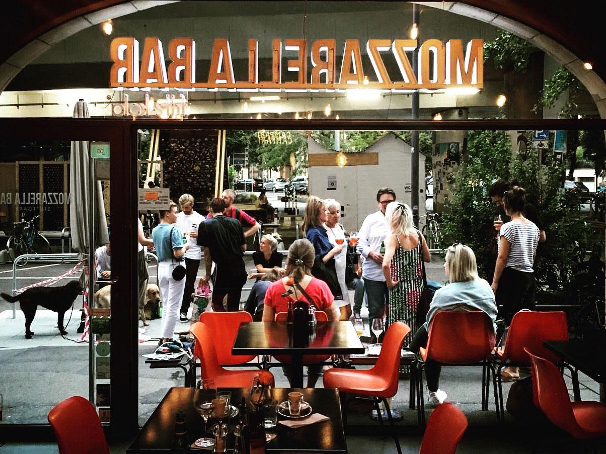 Außengastro Mozzarella Bar
