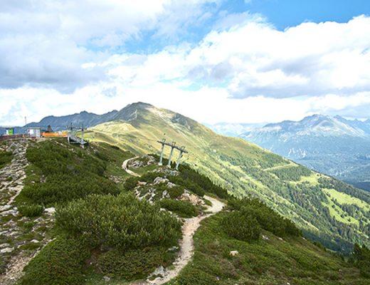 Reisen Venet Gipfelhütte Österreich