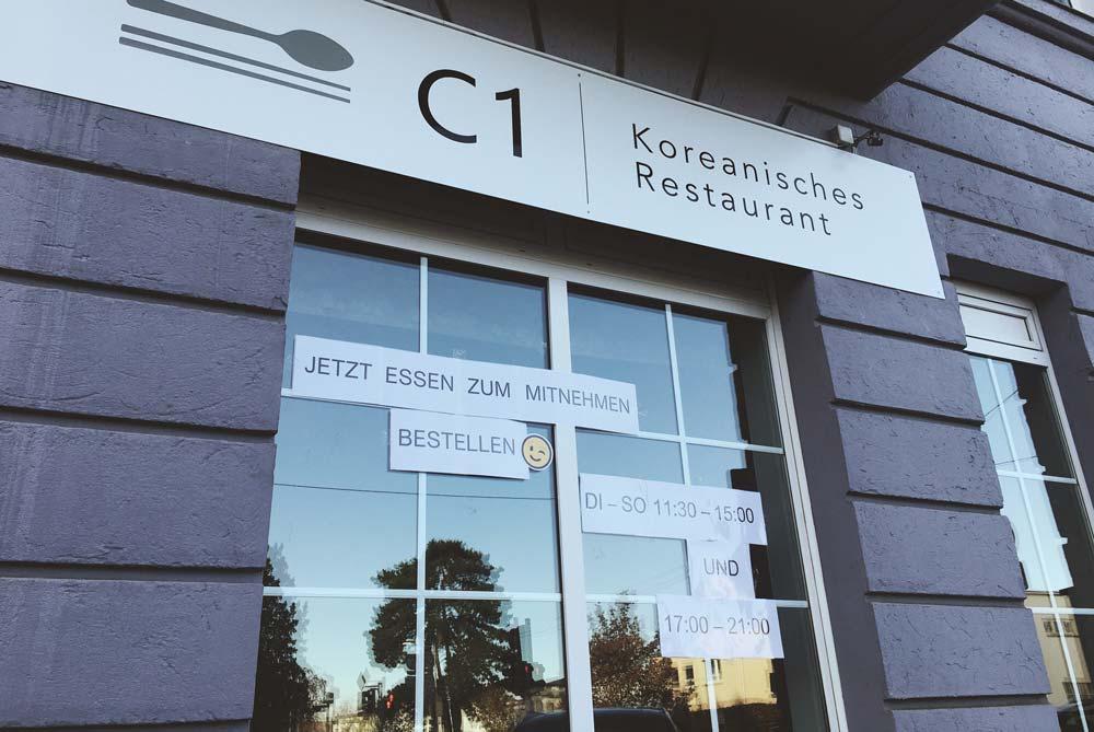 C1 – koreanisches Restaurant