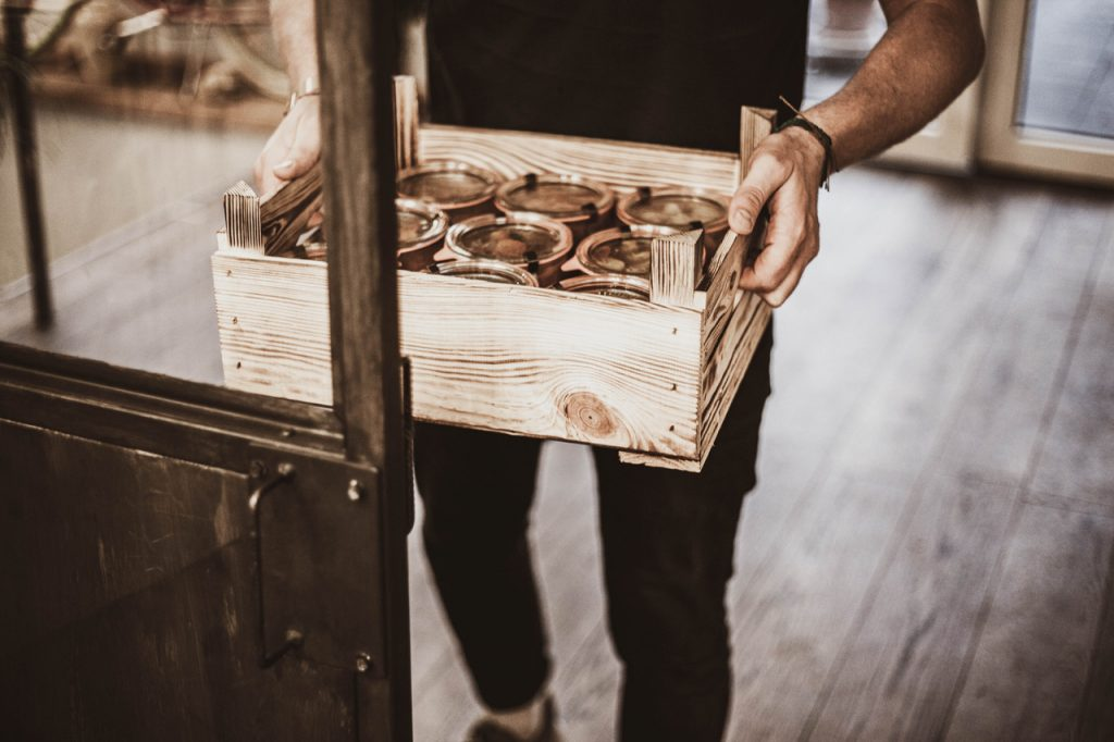 ugly apple Holzboxen