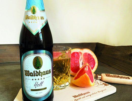 Waldhaus Bier mit Grapefruit