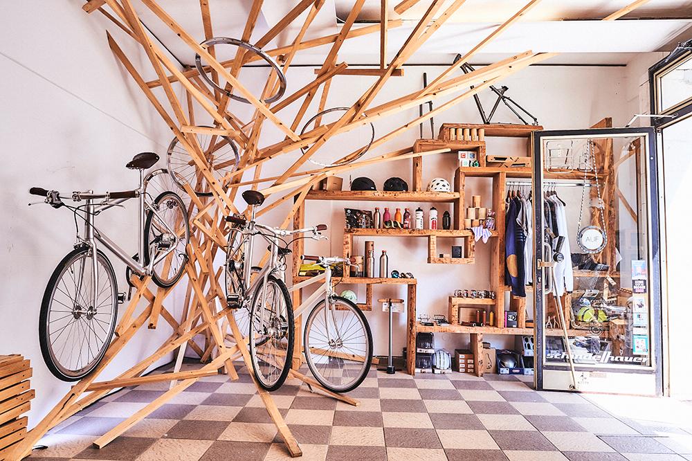 Basis Fahrradwarenladen